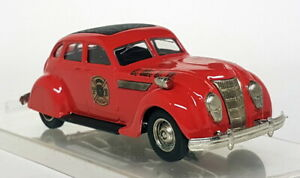 RexToys 1/43 Scale - Chrysler Airflow 1935 LMFD Fire Service diecast model car