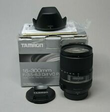 Tamron B016 AF 16-300mm f/3.5-6.3 Di II VC PZD Zoom Lens for Nikon Mount