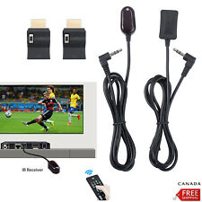 IR Remote Control Infrared Receiver Extender Emitter HDMI Cable Adaptor F HD-TV