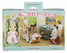 Sylvanian Families Calico Critters Doll Nurse Set Hospital Treat Epoch H-13 F/S