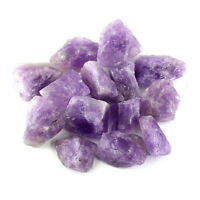 Crystal Allies: 1lb Bulk Rough Amethyst Quartz Stones from Madagascar - Large 1