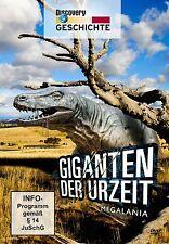 Dokumentation Doku Urzeit Giganten Megalania DINOSAURIER DVD Neu OVP
