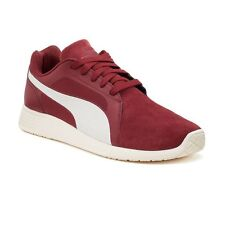 PUMA ST Trainer EVO Men's Suede Leather Trainer Sneaker Shoes Burnt Red NIB