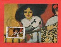 FDC 1975 - La Mujer A La Barandilla Por Kee Van Dongen (K442)