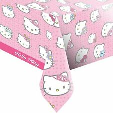 PRINCESS HELLO KITTY TABLE CLOTH BIRTHDAY TABLEWARE PARTY TABLECOVER BRAND  NEW