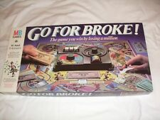 Go For Broke Board Game 1985