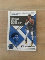 2019-20 Panini NBA Chronicles Shai Gilgeous-alexander