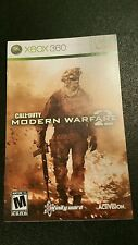 Xbox 360 Call of Duty Modern Warfare 2 Instruction Booklet Insert Only Microsoft
