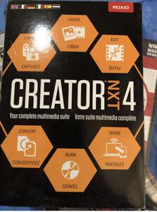 Roxio Creator NXT 4 Old Version Digital Complete Multimedia Software Download