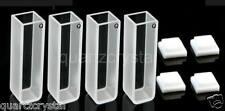 Set of 4 Quartz Cuvettes 10mm cuvette cell spectrometer