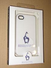 Resident Evil 6 Official Capcom iphone 4 & 4S Skin Hard Cover Case white New