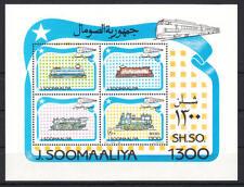 Somalia (Soomaaliya) - Michel-Nr. Block 33 postfrisch/** (Eisenbahn / Train)
