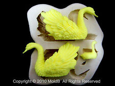Sugarcraft Mold Mould  for Sugar Cake,Cupcake,Chocolate,Clay -Highquality Swan