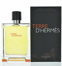 Terre D'hermes by Hermes for Men Pure Perfume 6.7 oz 200 ml spray