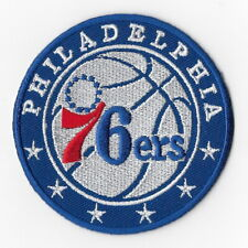 NBA Philadelphia 76ers Iron on Patches Embroidered Badge Patch Applique B Sew