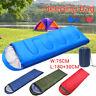 4 Season Waterproof Sleeping Bag Single Person Camping Hiking Case Envelope Zip