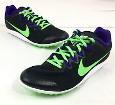 New Nike Zoom Rival D 9 Men's 10.5 Distance Running 🏃 Shoes/Spikes Track Sprint