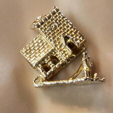 9 ct GOLD Second hand wedding couple in church charm