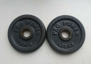 Pro power 2 x 1.25kg Standard Plates