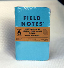 Field Notes Nixon 2015 Special Limited Edition Notebook 3-Pack - Made in 🇺🇸