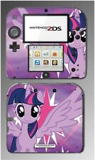 My Little Pony Friendship is Magic Twilight Sparkle Game Skin Cover Nintendo 2DS