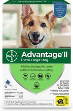 Advantage II Flea & Tick Spot Treatment for Dogs over 55 lbs ( 6 pack )