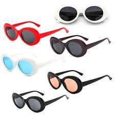Hot Vintage NIRVANA Kurt Cobain Round Sunglasses For Women Men Mirrored Glasses