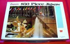 Vintage Whitman ROCKEFELLER PLAZA NEW YORK 850 pc Jigsaw Puzzle 1960s Prometheus