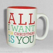 SunnySide Up Coffee Mug from About Face Designs- All I Want For Christmas is You