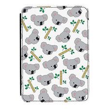 Koala Pattern Animal Zoo Cute Funny iPad Mini 1 2 3 PU Leather Flip Case Cover