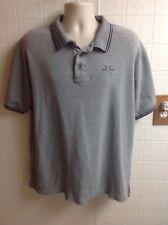 Big Dogs Shirt 100% Cotton Polo/Golf Gray 3 button Size XLarge