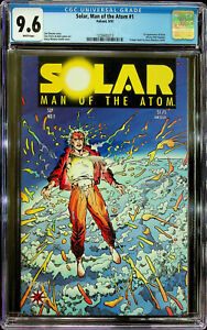 Solar Man of the Atom #1 (Sep 1991, Valiant Comics) CGC 9.6