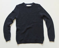 H&M eleganter Pullover Gr. XS 44 TOP Blau