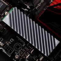 1X(JONSBO M.2 SSD Aluminium Blech KüHl KöRper KüHler für M.2 2280 Solid Stat F4T