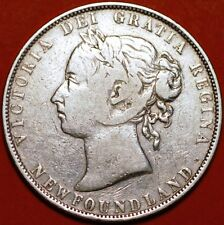 50 Cents 1899 Victoria silver Newfoundland KM#6