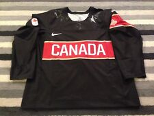 TEAM CANADA NIKE AUTHENTIC IIHF PRO 2014 OLYMPICS BLACK HOCKEY JERSEY 56 NIB