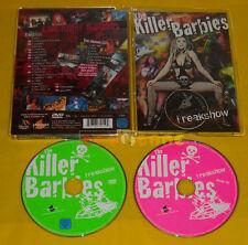 THE KILLER BARBIES FREAKSHOW Dvd + Cd Jewel Box »»»»» USATO