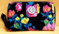 NWT $59 Vera Bradley - HILO MEADOW - RFID Turnlock Zip-around floral Wallet