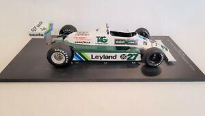 Spark - Williams Ford FW07B Alan Jones car #27 (1980 F1 World Champion)