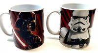 Star Wars Galerie Darth Vader Stormtrooper Mug Lot of 2 New