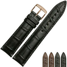 18-22mm Handmade Genuine Leather Wristbands Watch Strap Replacement  For Tissot