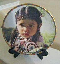 """Little Flower"" Indian Motif Collector Plate By Lenox - Ex Cond."