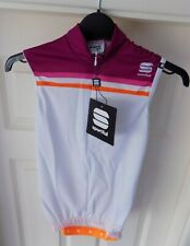 Sportful Allure Sleeveless Ladies/Womens Cycle Jersey - Size S - White, Plum