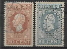 Nederland Jubileumzegels 100 jaar Onafhkelijk NVPH 95-96