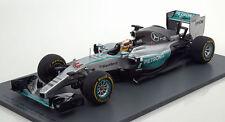 Spark 1/18 Mercedes F1 W06 #44 Winner USGP World Champ 2015 Lewis Hamilton