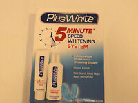Plus White 5 Minute Speed Whitening System Enamel Friendly full coverage NEW