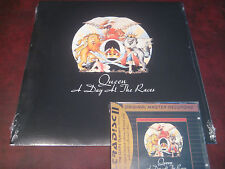 QUEEN  DAY AT THE RACES 180 GRAM HOLLYWOOD RECORDS 2008 LP + MFSL 24 KARAT CD