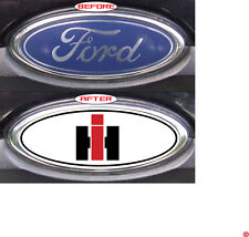 Ford F250-F350 1995  International Harvester WBR Overlay Logo Decal GRILLE