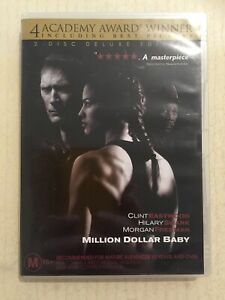MILLION DOLLAR BABY (DVD R4 2004) 2 Disc VGC Hilary Swank Clint Eastwood Boxing