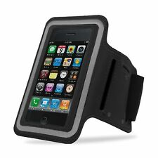 BLACK Armband Case for Jogging Running Apple iPhone 5 5S Holder Cover with Strap